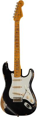 Fender 57 Strat Black Heavy Relic