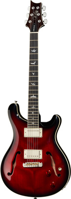 PRS SE Hollowbody FR Fire Red