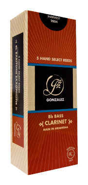 Gonzalez RC Bass Clarinet 3.0