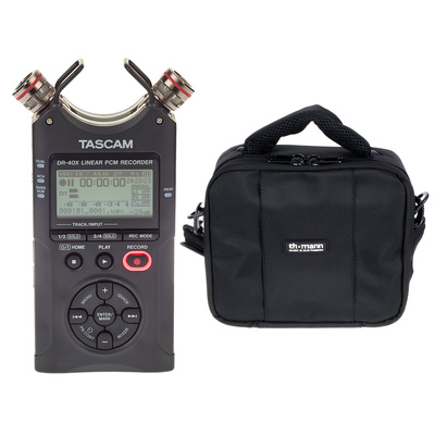 Tascam DR-40X Bag Bundle