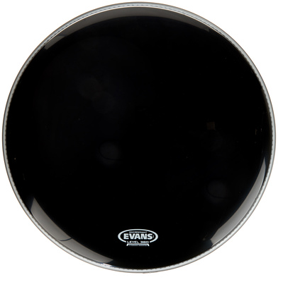 "Evans 18"" EQ3 Resonant Bass Drum BK"