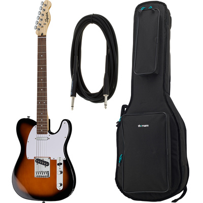 Fender SQ Bullet Tele LRL BSB Bundle