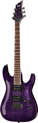 ESP LTD H-200FM See Thru Purple
