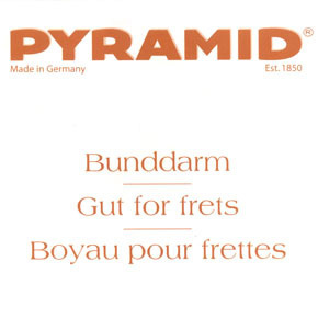 Pyramid Fret Gut Diameter 0,50mm