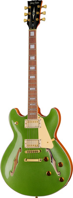 Harley Benton HB-35Plus Metallic Green