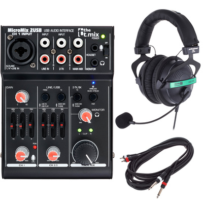 the t.mix MicroMix 2 USB Bundle