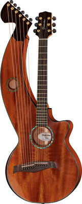 Timberline Guitars T30HGc-e Harp Guitar