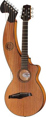 Timberline Guitars T20HGpc-e Harp Guitar