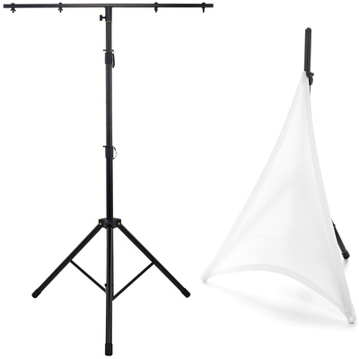 Roadworx Lighting Stand Scrim Bundle WH