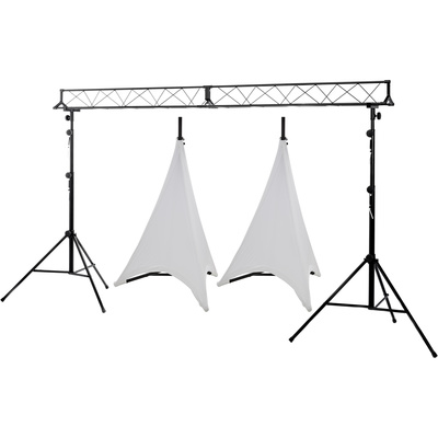 Stageworx LB-3 Lighting Stand Bundle WH