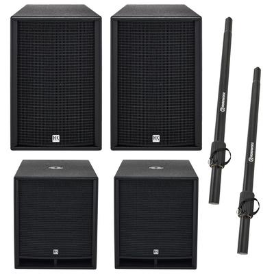 HK Audio PR:O 112 FD2/118 Sub D2 Bundle