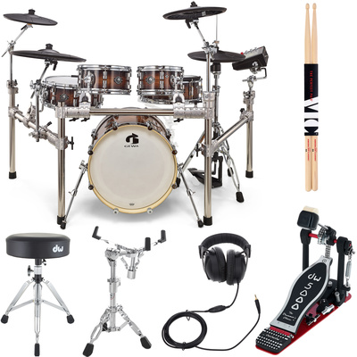 Gewa G9 E-Drum Set Pro L5 W. Bundle