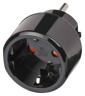 Brennenstuhl Travel Adapter earthed to USA