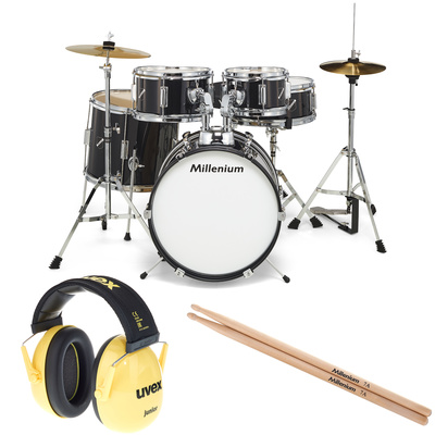 Millenium Focus Junior Black Bundle