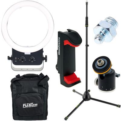 Varytec VR-260 Video Ring Light Bundle