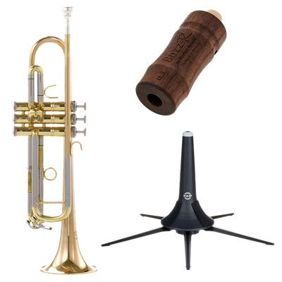 Thomann TR 400 G Bb-Trumpet Set 1