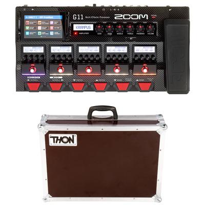 Zoom G 11 Guitar Multi Effec Bundle