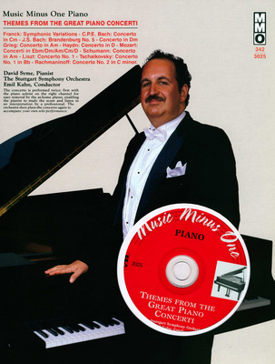 Music Minus One Themes Great Piano Concerti