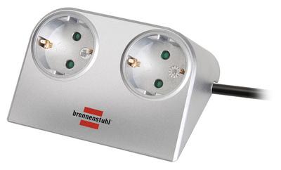 Brennenstuhl Desktop-Power Split 2 Way SI