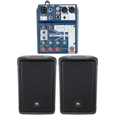 JBL IRX 108 BT Notepad 5 Bundle