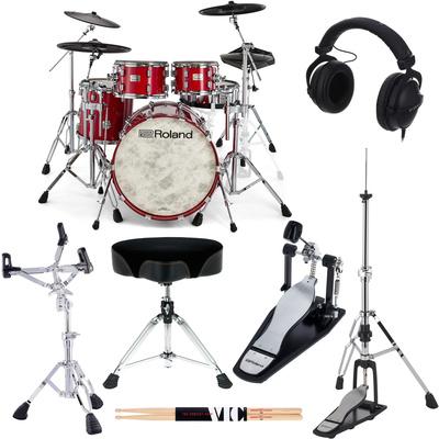Roland VAD706-GC E-Drum Set Bundle