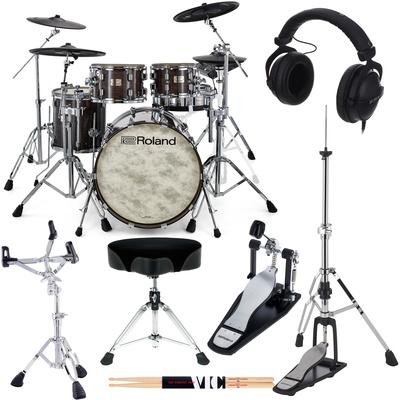 Roland VAD706-GE E-Drum Set Bundle