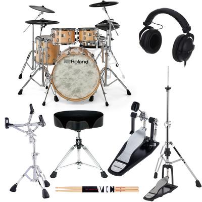 Roland VAD706-GN E-Drum Set Bundle