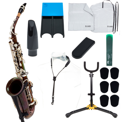 Thomann TAS-180 Vintage Alto Sax Set