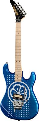 Kramer Guitars White Lotus Baretta Candy Blue
