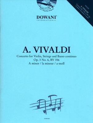 Dowani Vivaldi Concertino Op. 3 No. 6