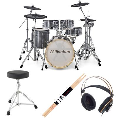 Millenium MPS-1000 E-Drum Set Bundle