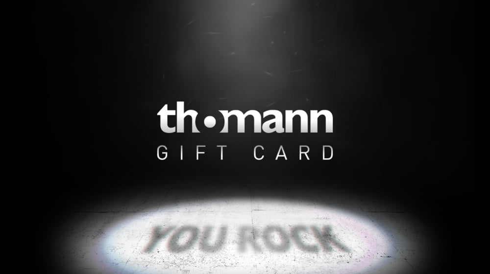 Thomann gift vouchers – Thomann UK