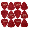 Fender Red Moto Pick Medium