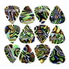 Boss Celluloid Pick Pack M Abalone