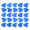 Sharkfin Pick Relief Hard Blue 25