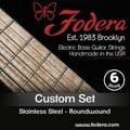 Fodera 6-String Set Custom Steel