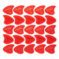 Sharkfin Pick Goldprint Soft Red 25