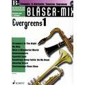 Schott Bläser-Mix Evergreens 1 Bb