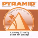 14. Pyramid Autoharp String Set 32