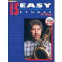 Alfred Music Publishing 15 Easy Jazz Etudes Bb