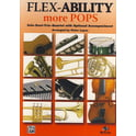 Alfred Music Publishing Flex-Ability More Pops A-Sax