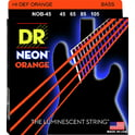 72. DR Strings NOB-45 Strings Set Neon Orange