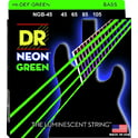 41. DR Strings NGB-45 HiDef Neon Green