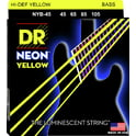 74. DR Strings NYB-45 Strings Set Neon Yellow