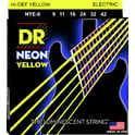DR Strings DR NEON Hi-Def Yellow - NYE- 9