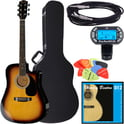 Fender Squier SA-105CE SB Bundle 2