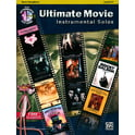 Alfred Music Publishing Ultimate Movie Solos T-Sax