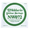 42. Daddario NW072 Single String