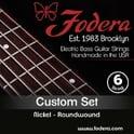 Fodera 6-String Set Medium Nickel