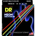 36. DR Strings Neon HiDef Multi-Color Bass 4